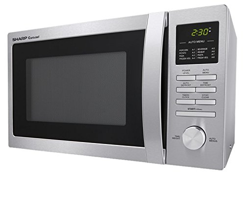 Countertop Microwave Small Footprint : Home / Microwave Ovens / Sharp Carousel Countertop Microwave Oven 0.9 ...